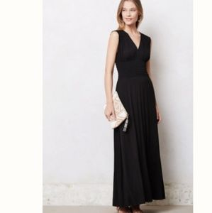 Black Maxi with smocked waist